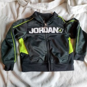 Air Jordan  Big logo Toddler Track Jacket  Green y